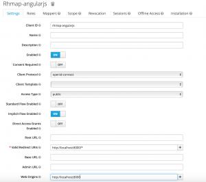 AngularJS Client