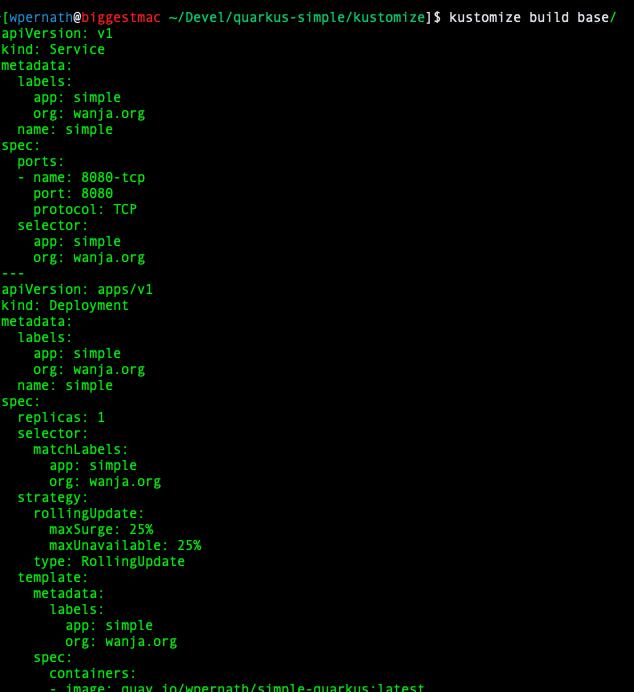 Image 6: Output of kustomize tool