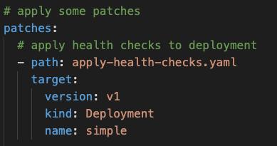 Image 9: Adding health checks to the Deployment