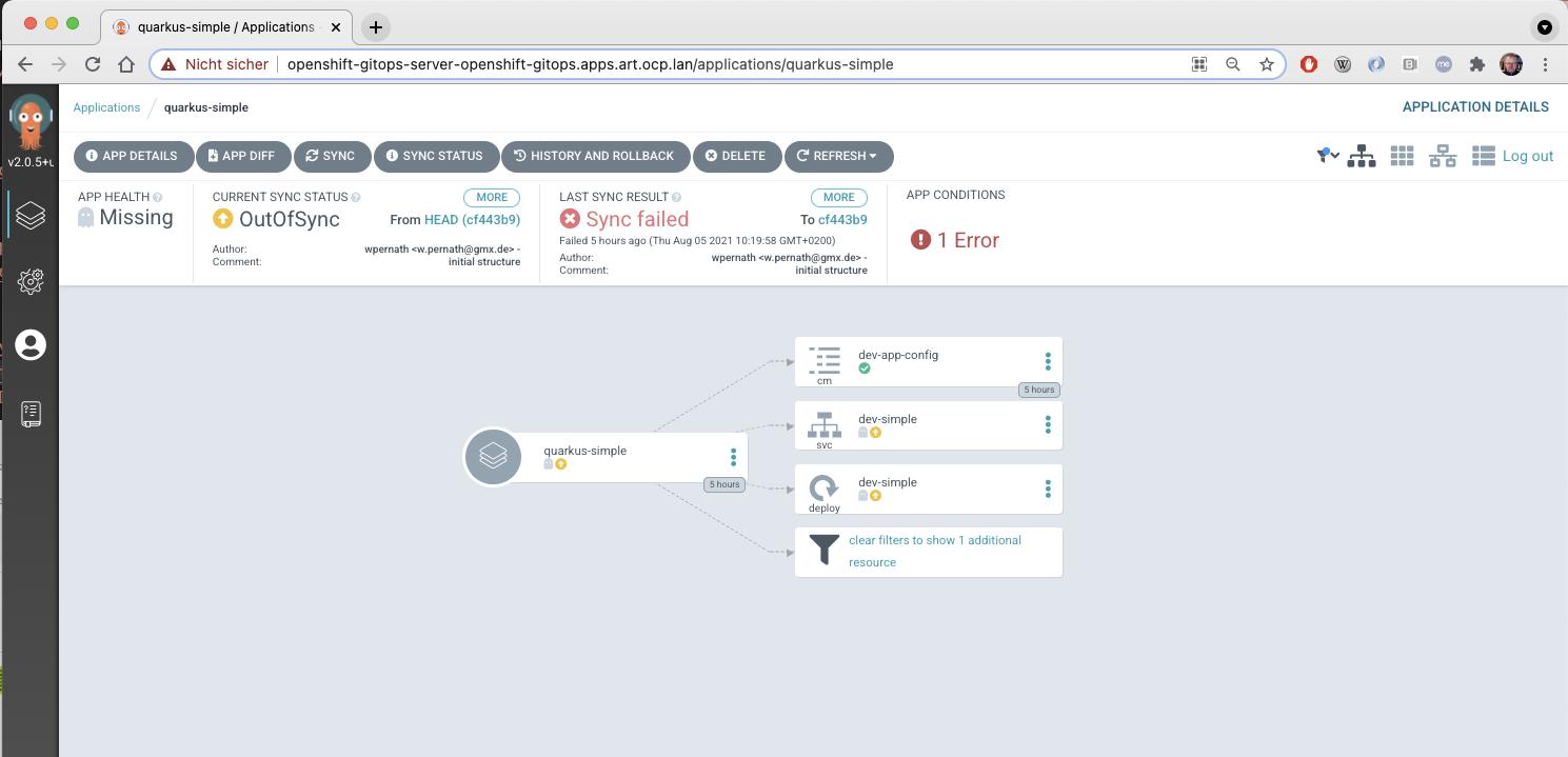 Image 6: ArgoCD UI Synchronization failure